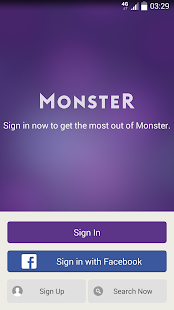 Monster Job Search screenshot for Android