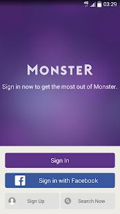 Monster Job Search APK for Blackberry