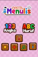 Screenshot of Marbel Belajar Menulis