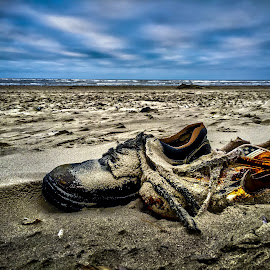 A long swim by Danny Steiness - Artistic Objects Clothing & Accessories ( shoes, hdr, beach, iphone )