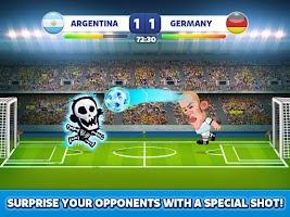 Screenshot of Head Soccer - World Football