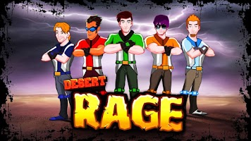 Screenshot of Desert Rage - Bike Racing Game