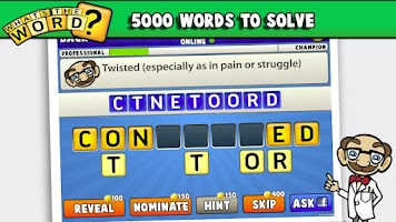 Screenshot of What's The Word? Word Puzzle!