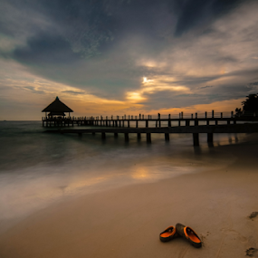 sleeper by Arik S. Mintorogo - Landscapes Sunsets & Sunrises ( relax, tranquil, relaxing, tranquility )