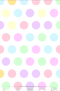 Polka Dots LWP - screenshot