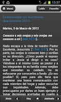 Screenshot of Texto Diario 2013