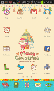 Cozy Santa icon theme - screenshot