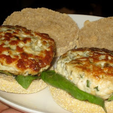 Chicken and Blue Cheese Burgers