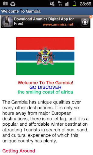 GAMBIA INFO - Visitors Guide