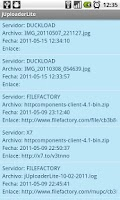 Screenshot of jUploader Lite
