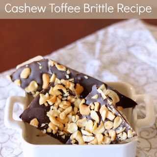 Cashew Toffee Brittle