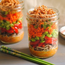 Asian Noodle Salad Jars