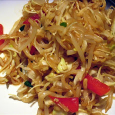 Chinese Cabbage and Bean Sprout Salad