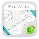 App Download Pure White GO Keyboard Theme Install Latest APK downloader