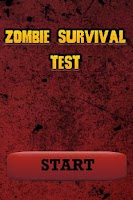 Screenshot of Zombie Survival Test
