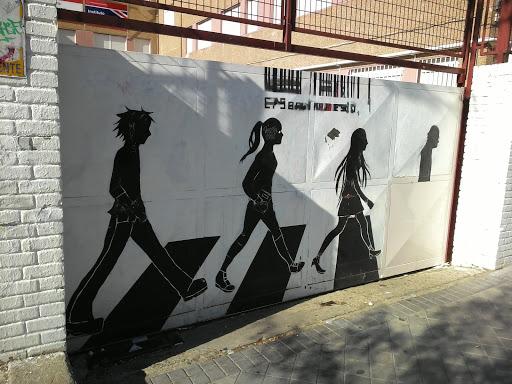 Graffiti Paso Peatones