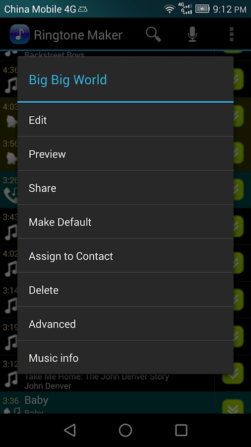 Ringtone Maker Pro Screenshot 4