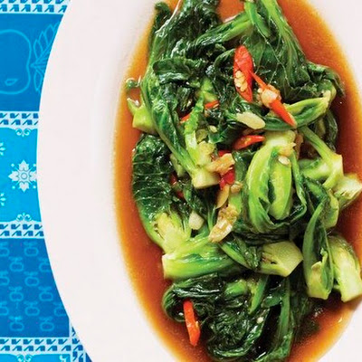 Stir-Fried Brussels Sprouts With Garlic And Chile Recipes — Dishmaps