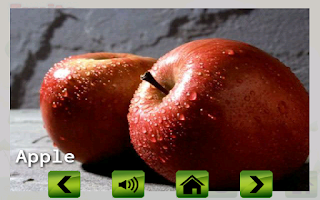 Screenshot of Fruit veg shape color for kids