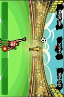 Screenshot of Soccer (Goal Keeper) -G-Sensor