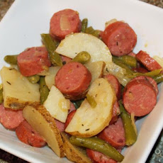 Polish Sausage, Potato Skillet