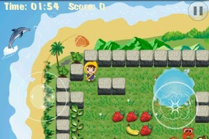 Screenshot of Fruit Pop