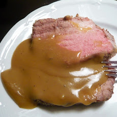 Kittencal's Slow Cooker Eye of Round Roast With Gravy