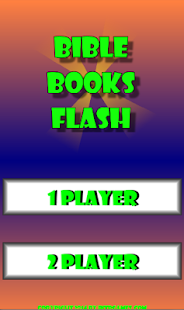 Bible Books Flash Game - screenshot