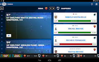 Screenshot of FOX Sports NL