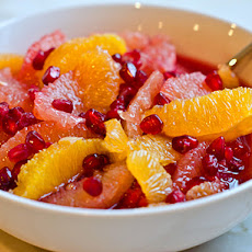 Winter Citrus & Pomegranate Fruit Salad
