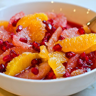 Winter Citrus Fruit Salad Recipes