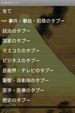 報道されない『日本のタブー』