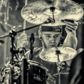 drummer by Horst Winkler - Artistic Objects Musical Instruments ( music, wien, drummer, instrument, drums, schlagzeuger, musicians, schlagzeug, vienna+, vienna, drum, musician, austria, instruments,  )