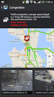 Screenshot of INRIX® XD™ Traffic Maps&Alerts