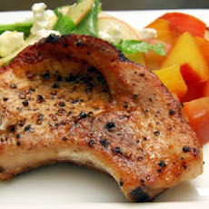 Golden Pork Chops