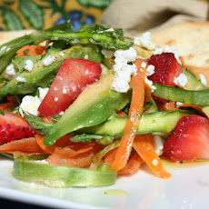 Asparagus & Strawberry Salad