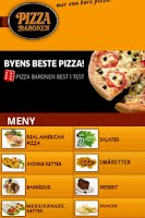 Screenshot of Pizza Baronen