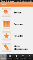 Screenshot of ratiopharm Arzneimittel App