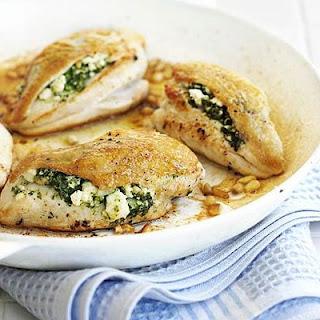 Chicken Spinach Feta Cheese Recipes