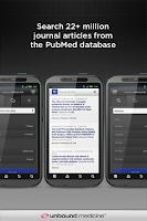 Screenshot of PubMed – Unbound MEDLINE