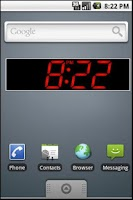 Screenshot of PK Led Clock Widget