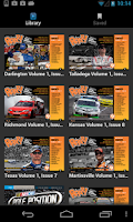 Screenshot of ROAR! weekly race magazine