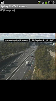 Screenshot of Sydney Traffic Cameras