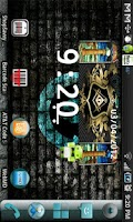 Screenshot of Masonic Pillars Clock Widget