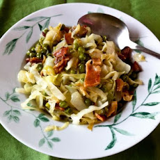 Irish Peas and Cabbage Scottish Style