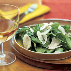 Jerusalem Artichoke and Arugula Salad with Parmesan