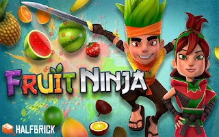 Screenshot of Fruit Ninja