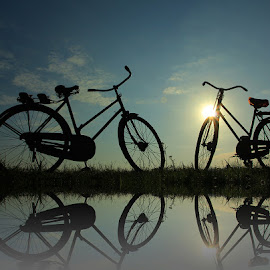 two bike by Mh Gandung - Transportation Bicycles ( #bike #bicycle )