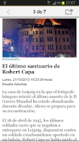 Screenshot of El Mundo