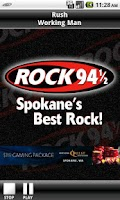 Screenshot of Rock 94 1/2